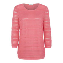 Buy Windsmoor Texured Jumper, Dark Pink Online at johnlewis.com