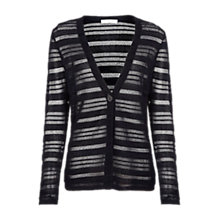 Buy Windsmoor Striped Cardigan, Navy Online at johnlewis.com