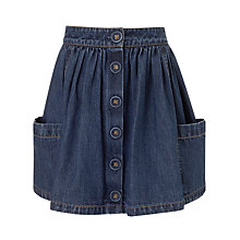 Buy John Lewis Girl Denim Skirt, Blue Online at johnlewis.com