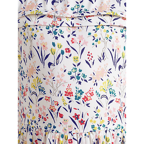 Buy John Lewis Girl Floral Dress, Multi/Cream Online at johnlewis.com