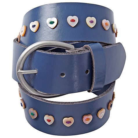 Buy White Stuff Heart Button Belt Online at johnlewis.com