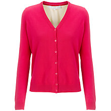 Buy Fenn Wright Manson Viola Lace Back Cardigan, Electric Pink Online at johnlewis.com