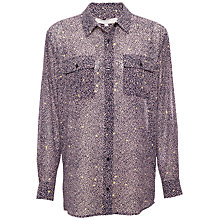 Buy Fenn Wright Manson Lisbon Shirt, Navy/Orchid Online at johnlewis.com