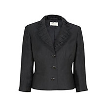 Buy Precis Petite Crinkle Jacket, Black Online at johnlewis.com