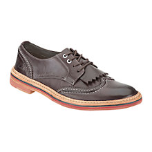 Buy Clarks Duty Desert Leather Brogue Shoes Online at johnlewis.com