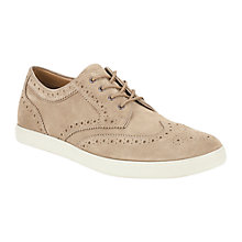 Buy Clarks Favor Limit Brogue Suede Derby Shoes Online at johnlewis.com