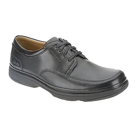 Buy Clarks Swift Mile Leather Shoes Online at johnlewis.com