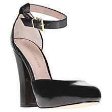 Buy KG by Kurt Geiger Affection Ankle Strap Court Shoes, Black Online at johnlewis.com