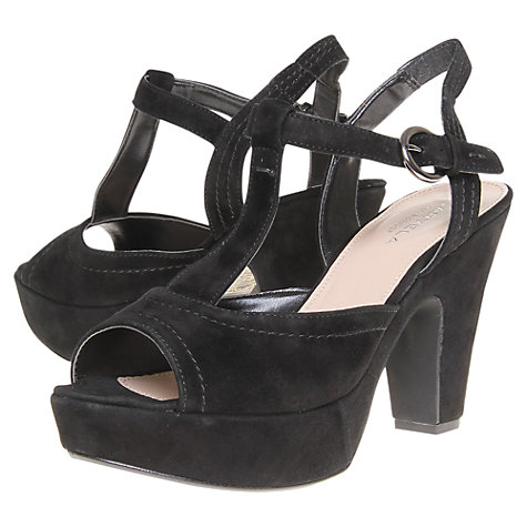 Buy Carvela Kourt Suede Strappy Platform Sandals Online at johnlewis.com