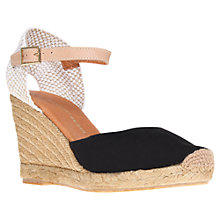 Buy KG by Kurt Geiger Monty Wedge Heel Espadrilles Online at johnlewis.com