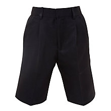 Buy Ibstock Place School Boys' Bermuda Shorts, Navy Online at johnlewis.com