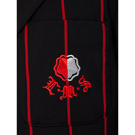 Buy Lady Margaret School Girls' Blazer, Black/Red Online at johnlewis.com