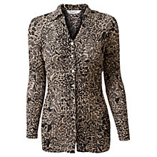 Buy East Nikki Bubble Shirt, Black Online at johnlewis.com