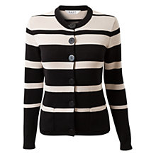 Buy East Milano Knitted Jacket, Black Online at johnlewis.com