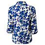 Buy East Floral Linen Shirt, Cobalt Online at johnlewis.com