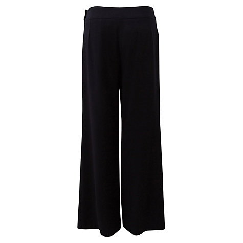 Buy East Straight Leg Trousers, Navy Online at johnlewis.com