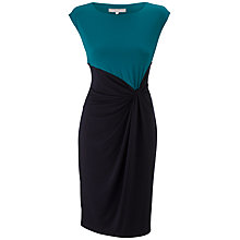 Buy Fenn Wright Manson Leah Dress, Navy/Emerald Online at johnlewis.com