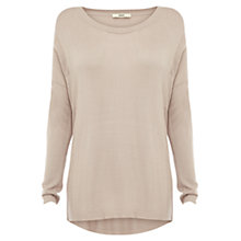 Buy Oasis Fine Gauge Jumper, Cream Online at johnlewis.com