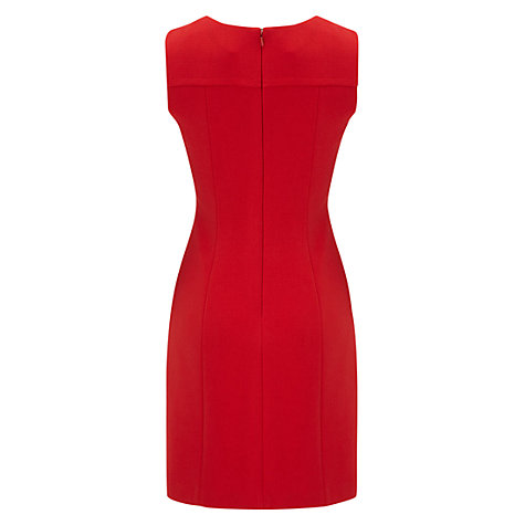 Buy Hobbs Zoe Dress, Poppy Online at johnlewis.com