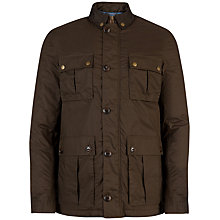 Buy Ted Baker Lovgud Cotton Field Jacket Online at johnlewis.com