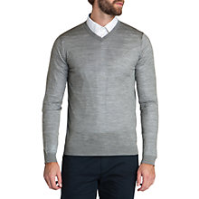 Buy Ted Baker Waxon Merino Wool V-Neck Jumper Online at johnlewis.com
