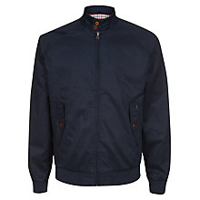Buy Ben Sherman Classic Harrington Jacket, Navy Online at johnlewis.com