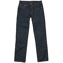 Buy Ted Baker Parbrie Straight Leg Jeans, Rinse Denim Online at johnlewis.com