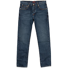 Buy Ted Baker Clawood Straight Leg Jeans, Light Wash Online at johnlewis.com