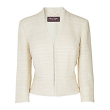 Buy Phase Eight Angelica Tweed Jacket, Ivory Online at johnlewis.com