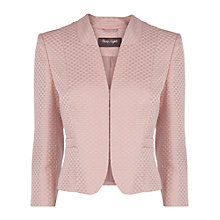 Buy Phase Eight Eclipse Jacquard Jacket, Pink Online at johnlewis.com