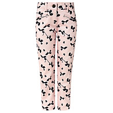 Buy John Lewis Girl Poodle Trousers, Pink Online at johnlewis.com