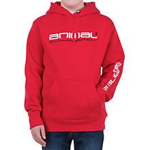 Buy Animal Fireant Hoodie, Red Online at johnlewis.com