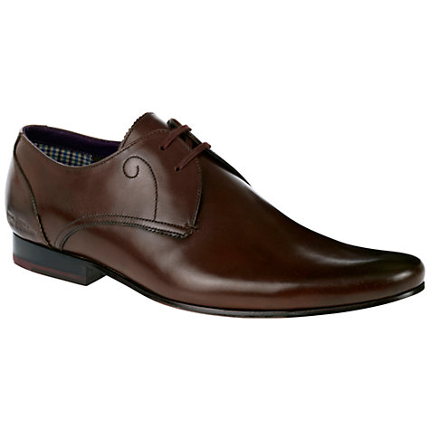 Buy Ted Baker Partii Leather Derby Shoes Online at johnlewis.com
