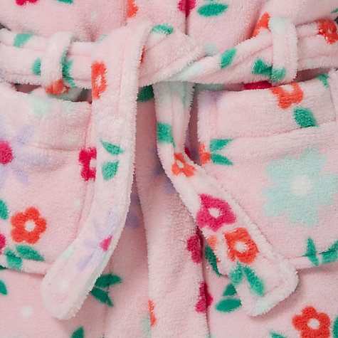 Buy John Lewis Flower Robe, Pink Online at johnlewis.com