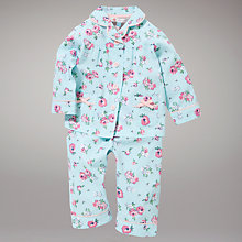 Buy John Lewis Rose Pyjamas, Blue Online at johnlewis.com