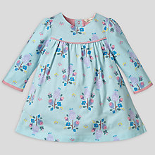 Buy John Lewis Baby Thistle Dress, Green Online at johnlewis.com