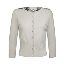 Buy Kaliko Etched Print Cardigan, Ivory Online at johnlewis.com