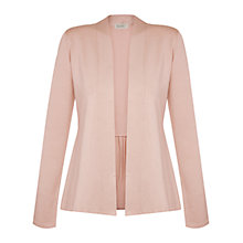Buy Kaliko Curved Front Cardigan, Light Pink Online at johnlewis.com