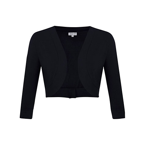 Buy Kaliko 3/4 Sleeve Bolero, Black Online at johnlewis.com