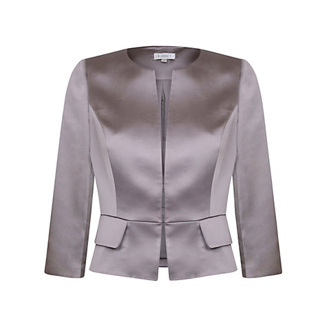 Buy Kaliko Satin Long Sleeve Peplum Jacket Online at johnlewis.com