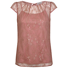 Buy Kaliko Sheer Lace Top Online at johnlewis.com