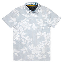 Buy French Connection Paddle Floral Print Short Sleeve Polo Shirt Online at johnlewis.com