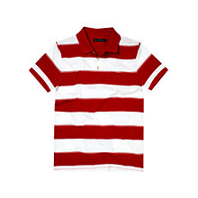 Buy French Connection Stripe Polo Shirt Online at johnlewis.com