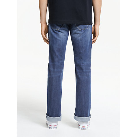 Buy Diesel Larkee 8XR Tapered Jeans, Blue Online at johnlewis.com