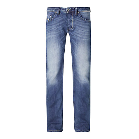 Buy Diesel Larkee 8XR Straight Leg Jeans Online at johnlewis.com