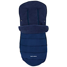 Buy Maclaren Universal Footmuff, Black Online at johnlewis.com