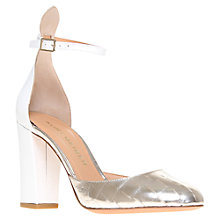 Buy Kurt Geiger Ella Printed Leather Cutaway Side Court Shoes Online at johnlewis.com