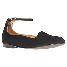 Buy Kurt Geiger Latin Ankle Buckle Pumps, Black Online at johnlewis.com