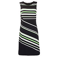 Buy Gerry Weber Striped Sleeveless Dress, Blue Online at johnlewis.com