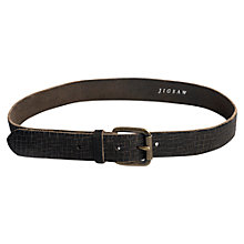 Buy Jigsaw Cut Leather Belt Online at johnlewis.com